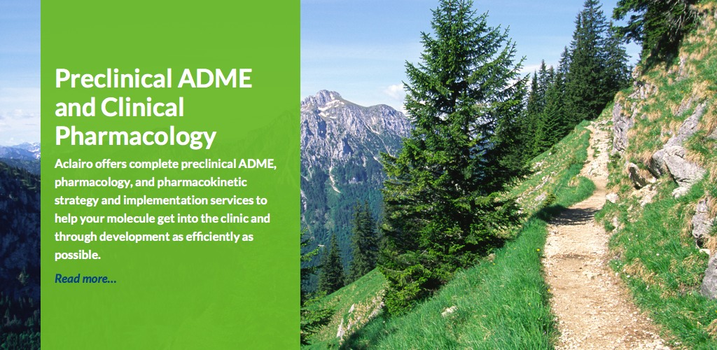Preclinical ADME and Clinical Pharmacology